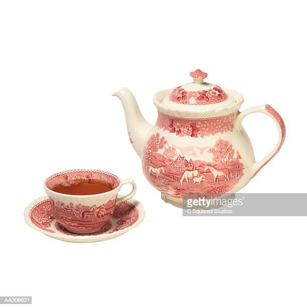 Teacup, Tea and a Teapot
