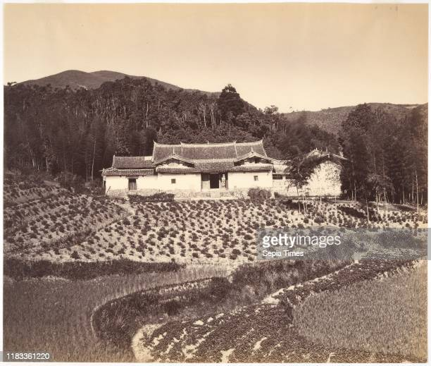 Teafield Josshouse at Peling circa 1869 Albumen silver print from glass negative Image 9 7/16 Ñ 11 1/8 inches Photographs Attributed to Tung Hing