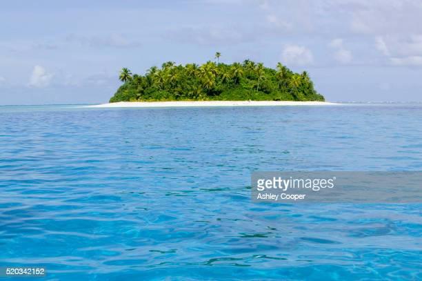 Teafualiku Island in Tuvalu