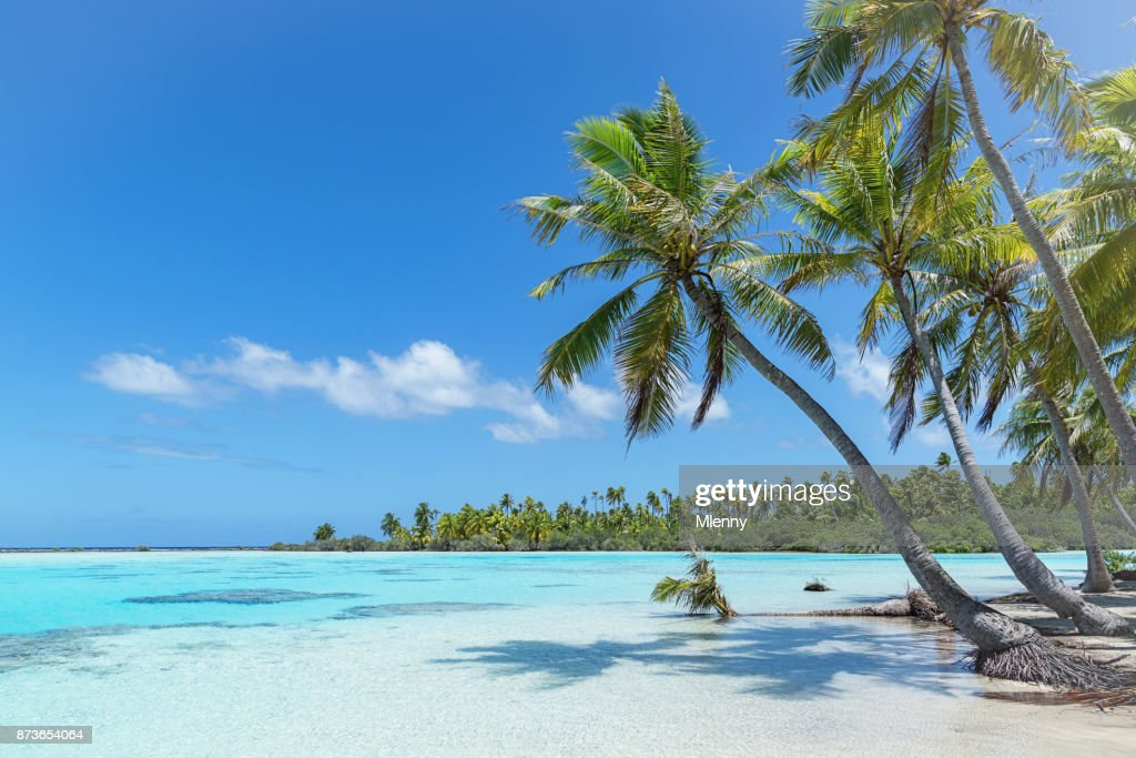 Teahatea Fakarava French Polynesia Atoll Beach : Stock Photo