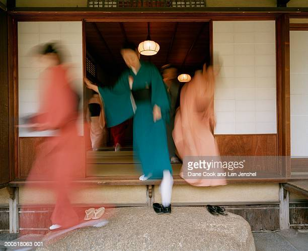 teahouse, nezu institute of fine arts, tokyo, japan - tea room stock pictures, royalty-free photos & images