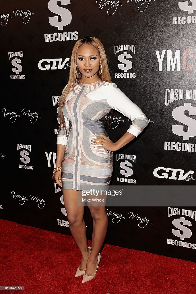 Teairra Mari arrives at the Cash Money Records 4th annual pre-GRAMMY Awards party on February 9, 2013 in West Hollywood, California.