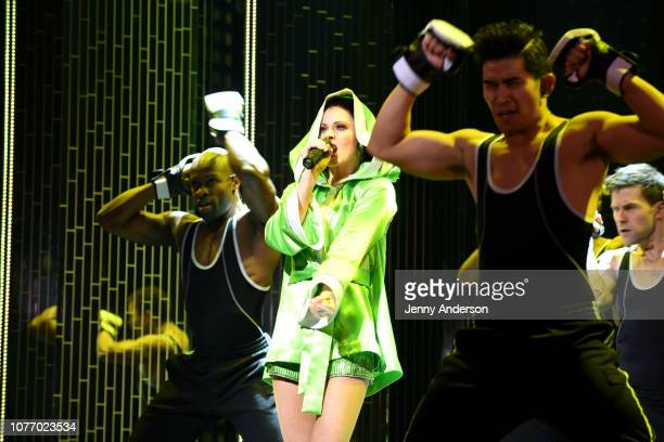 Teal Wicks performs onstage at The Cher Show Broadway Opening Night at Neil Simon Theatre on December 03 2018 in New York City