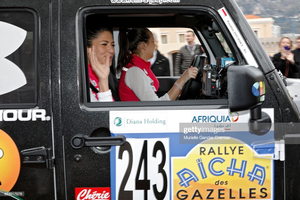 "28th ""Rallye Aicha Des Gazelles Du Maroc"" : Launch Day In Monaco"