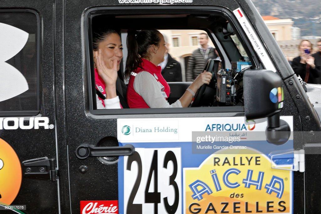 "28th ""Rallye Aicha Des Gazelles Du Maroc"" : Launch Day In Monaco"