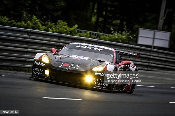 Team AAI #57 Chevrolet Corvette C7Z06 with Drivers Johnny O'u2019Connell Oliver Bryant and Mark Patterson during the 84th running of the Le Mans 24...