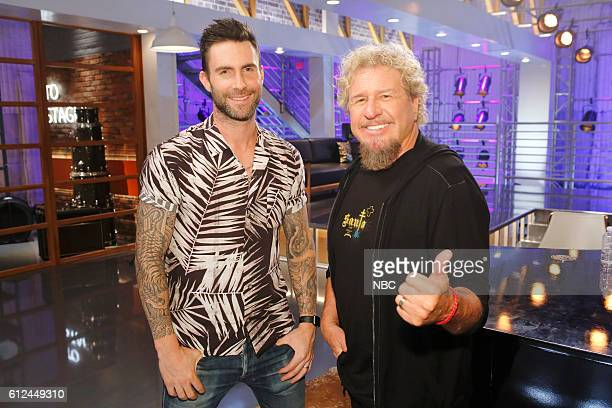 THE VOICE 'Team Adam Battle Reality' Pictured Adam Levine Sammy Hagar
