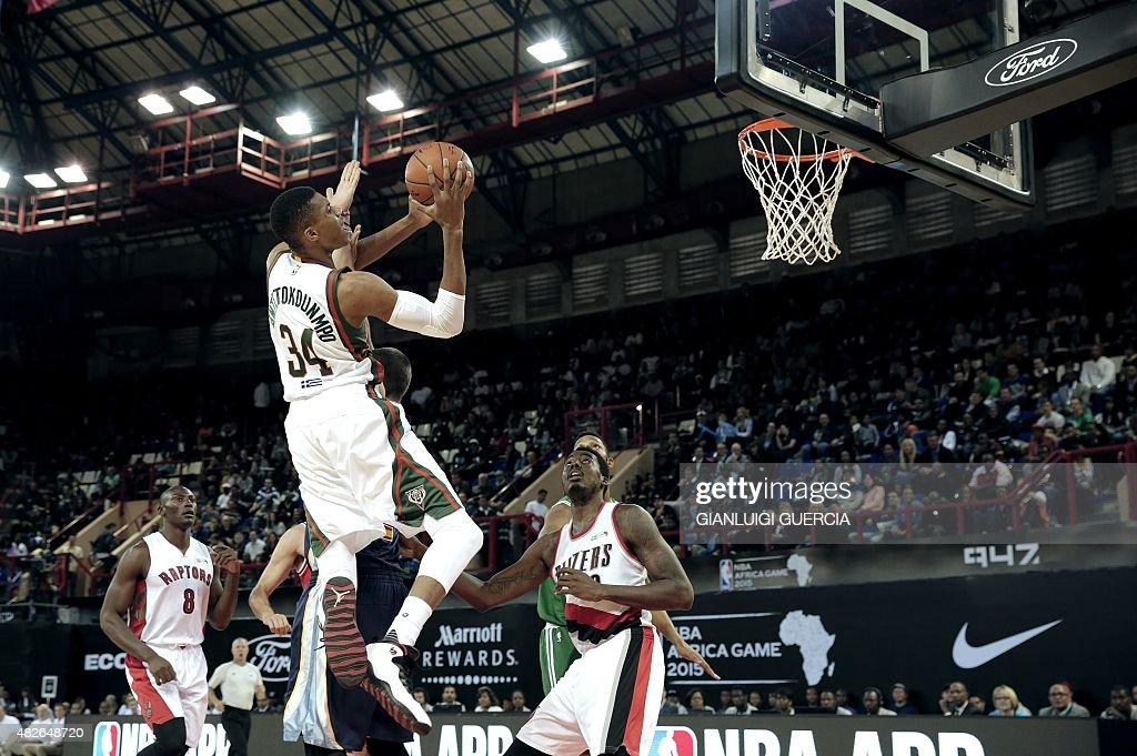 BASKET-RSA-NBA-AFRICA-WORLD : News Photo