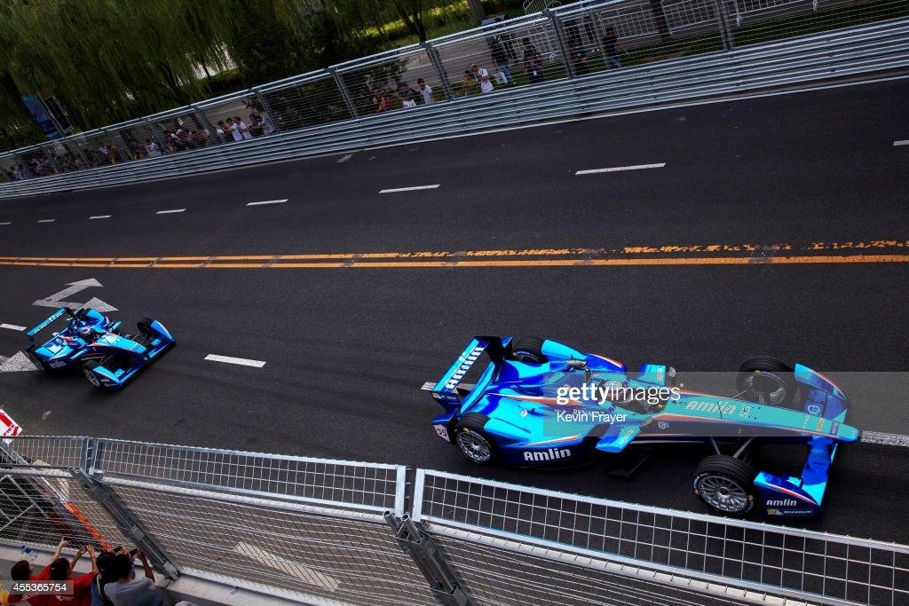 Formula E Series Debuts In Beijing : News Photo
