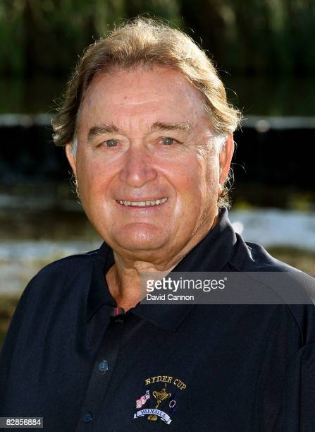 USA team assistant captain Raymond Floyd poses for a portrait during the USA team photo shoot prior to the 2008 Ryder Cup at Valhalla Golf Club on...