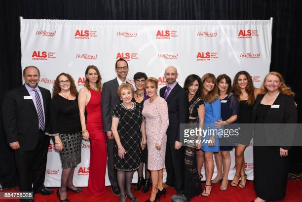 Team attends ALS Golden West Chapter Hosts Champions For Care And A Cure at The Fairmont Miramar Hotel Bungalows on December 2 2017 in Santa Monica...