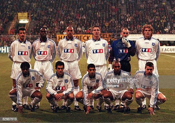FUSSBALL Champions League DORTMUND AUXERRE 31 050397 Team AUXERRE