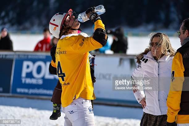 Team Badrutt's Palace Hotel Vs PerrierJouët Snow Polo World Cup St Moritz Switzerland 2016