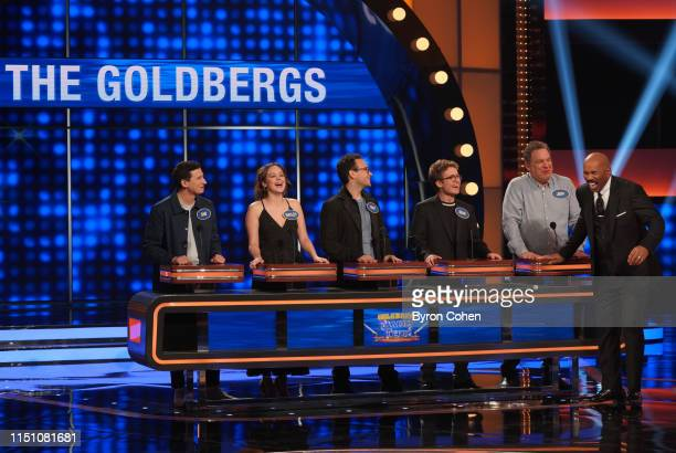 """Team 'black-ish' vs Team 'The Goldbergs'"""" - Anthony Anderson, Tracee Ellis Ross, Jeff Garlin and members of their respective ABC television families..."""