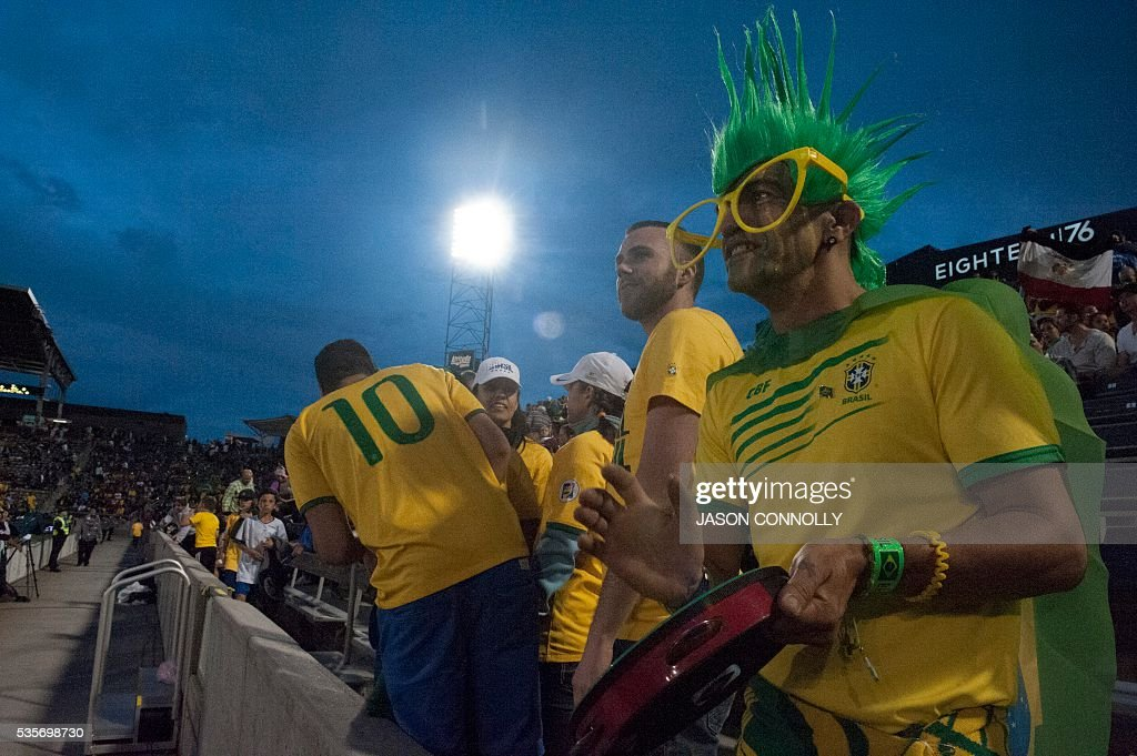FBL-US-FRIENDLY-BRAZIL-PANAMA : News Photo