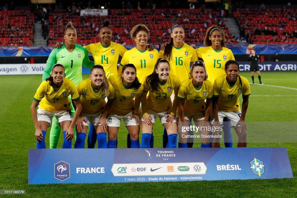 France v Brazil - Women Tournoi de France : ニュース写真