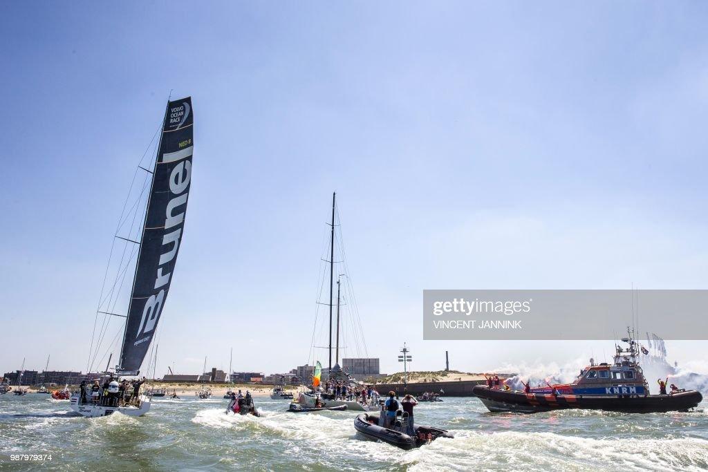 SAILING-VOLVO-OCEAN-RACE : Nyhetsfoto