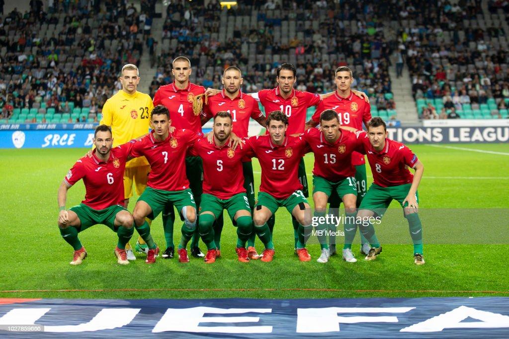 Slovenia v Bulgaria - UEFA Nations League C : News Photo