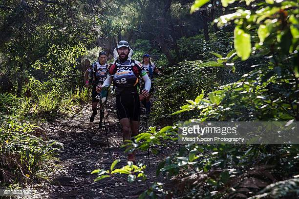 Team CanadaAr from Canada during the Adventure Race World Championship on November 11 2016 in Shoalhaven Australia