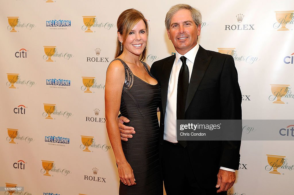 U S Team Captain Fred Couples And His Partner Midge