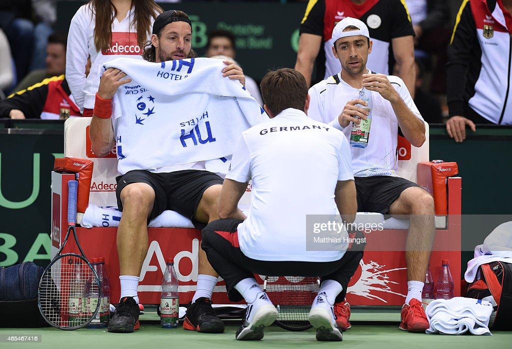Germany v France - Davis Cup : News Photo