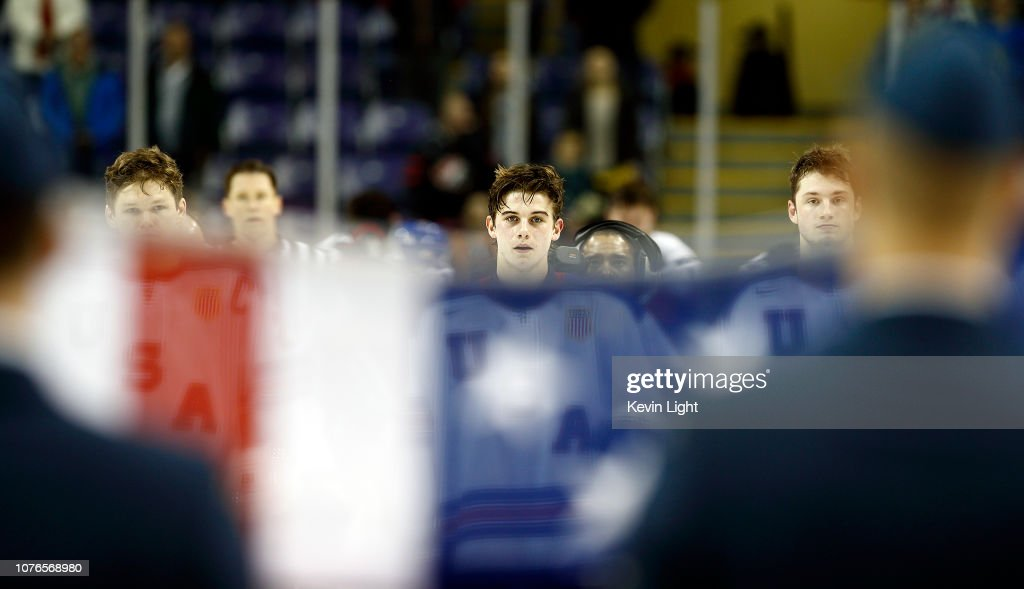 United States v Czech Republic: Quarterfinals - 2019 IIHF World Junior Championship : News Photo