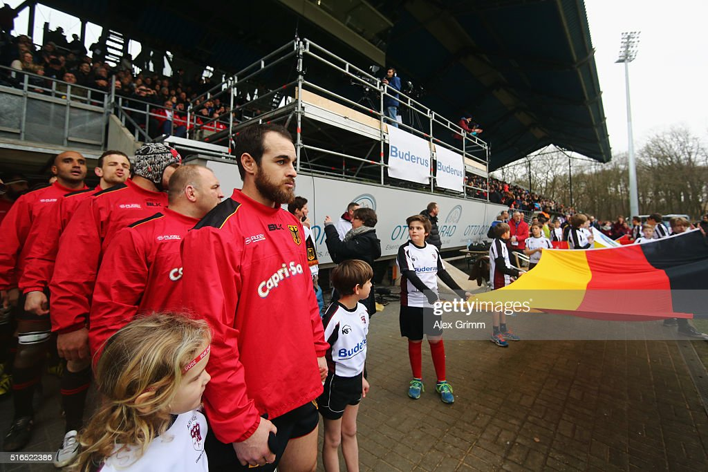 Germany v Spain - European Nations Cup : News Photo