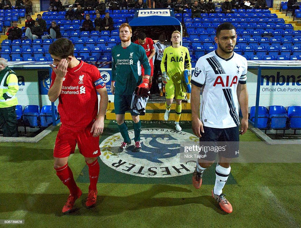 Liverpool U21 v Tottenham Hotspur U21: Barclays U21 Premier League