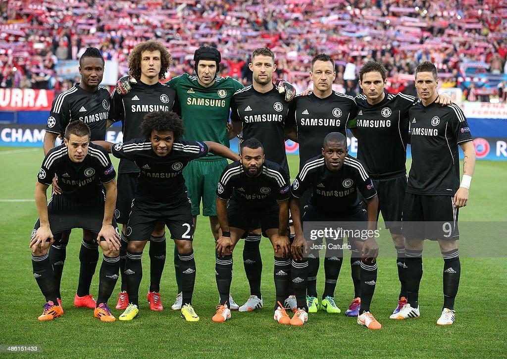 Club Atletico de Madrid v Chelsea - UEFA Champions League Semi Final : News Photo