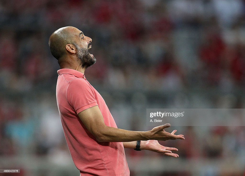 FC Bayern Muenchen v Real Madrid  - Audi Cup 2015 : News Photo