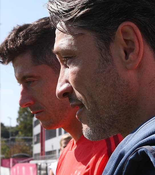 DEU: FC Bayern Muenchen - Training Session