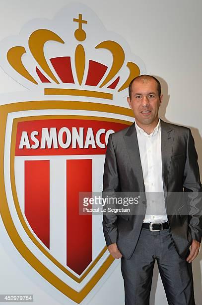 Team coach of A.S Monaco, Leonardo Jardim attends the AS Monaco football club flagship store opening on July 31, 2014 in Monaco, Monaco.
