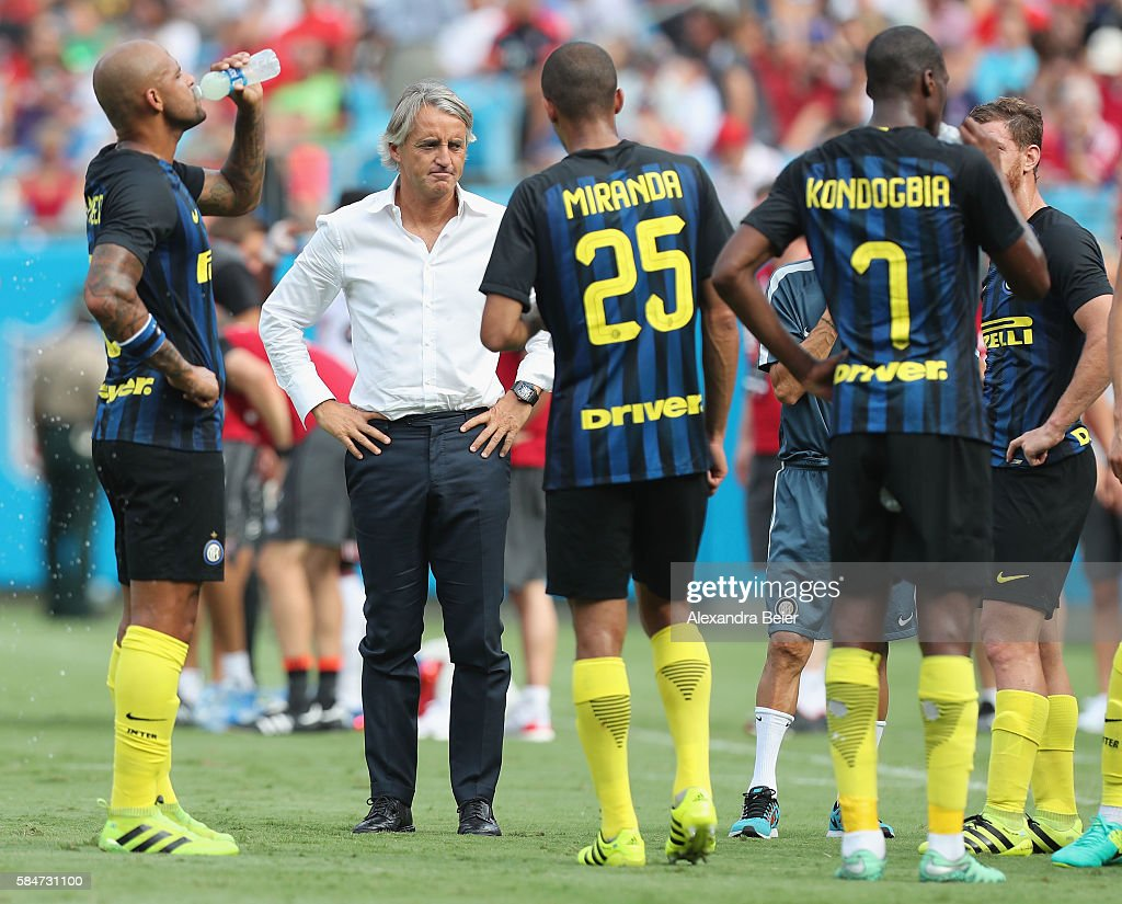 International Champions Cup 2016 - FC Internazionale v FC Bayern Munich : News Photo