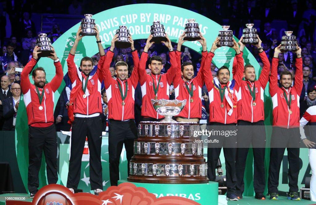 France v Croatia - Davis Cup Final: Day Three : ニュース写真
