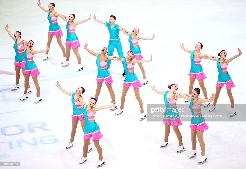 ISU World Junior Synchronized Skating Championships - Day 2 : News Photo