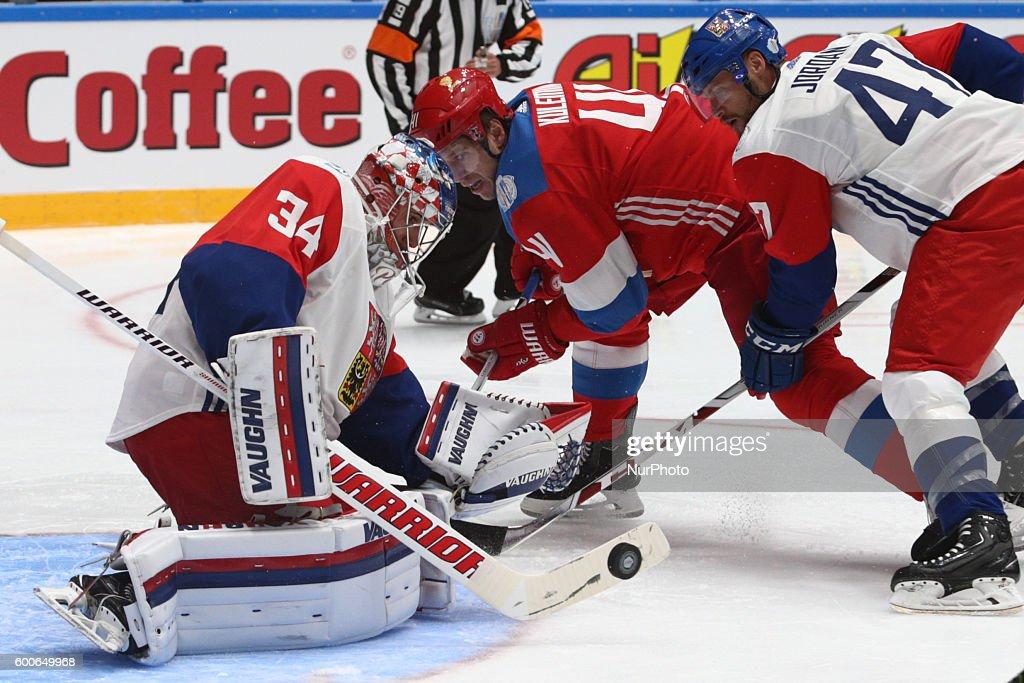 Russia v Czech Republic - The World Cup of Hockey pre-tournament : News Photo