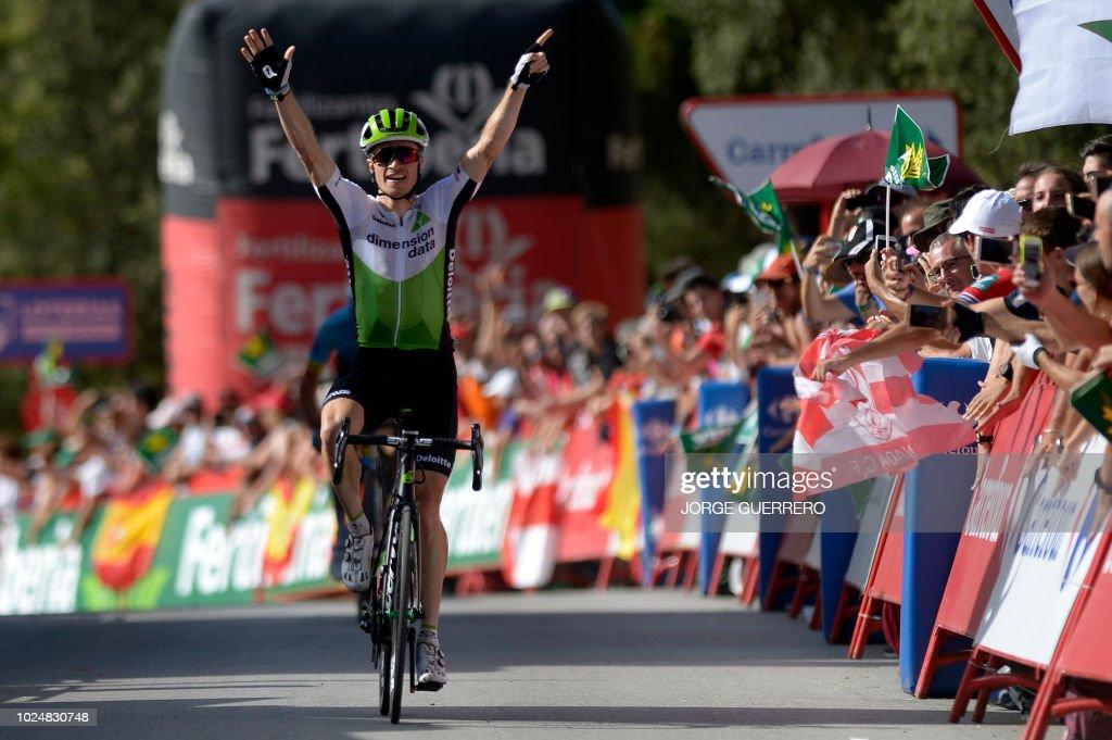 CYCLING-ESP-TOUR-VUELTA : Nachrichtenfoto