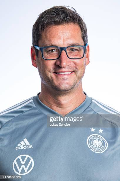 Team doctor Dr Oliver Leberfing poses on August 27 2019 in Tilburg Netherlands
