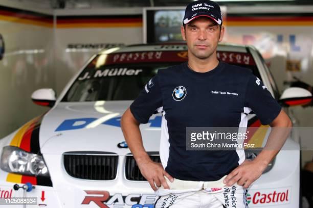 Team driver Jorg Muller ready for FIA World Touring Car Championship. 17 NOVEMBER 2007