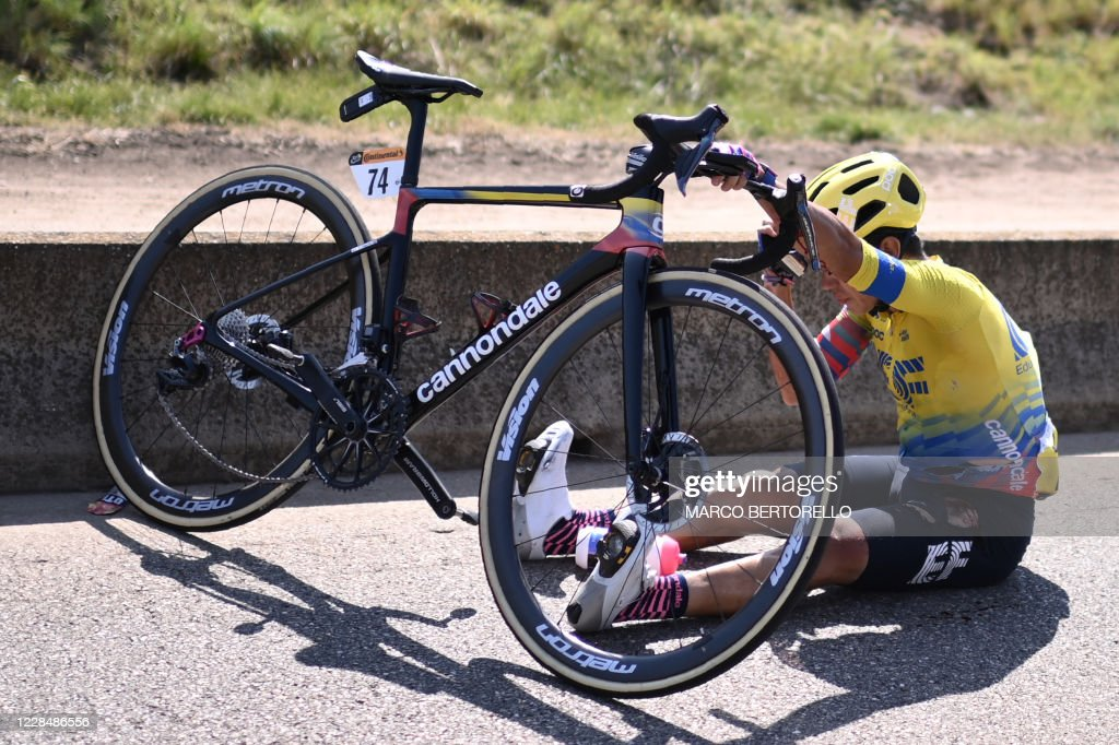 TOPSHOT-CYCLING-FRA-TDF2020-STAGE15 : News Photo