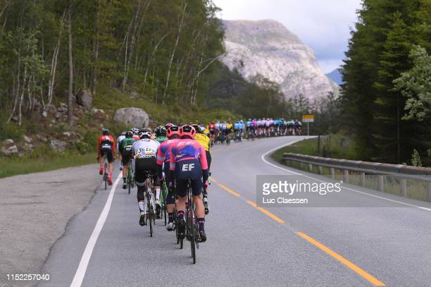 Team EF Education First / Peloton / Landscape / during the 9th Tour of Norway 2019 Stage 1 a 1682km stage from Stavanger to Egersund / @tourofnorway...