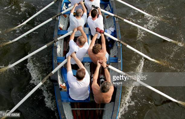 Team Effort in a Rowboat