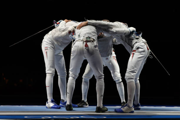 JPN: Fencing - Olympics: Day 5