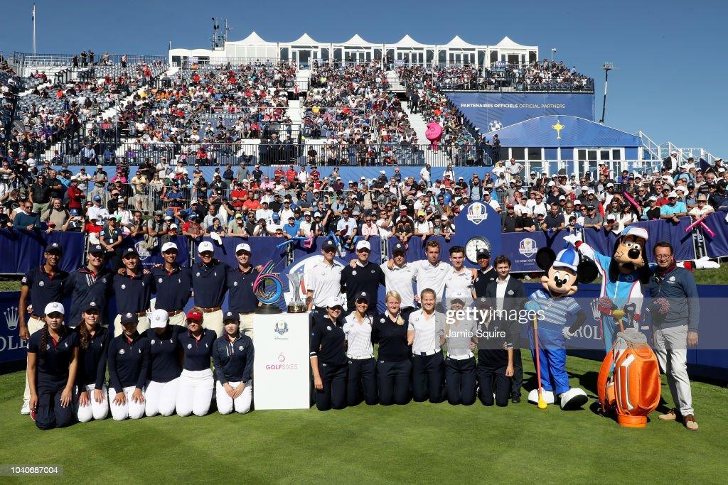 2018 Ryder Cup - Junior Ryder Cup GolfSixes