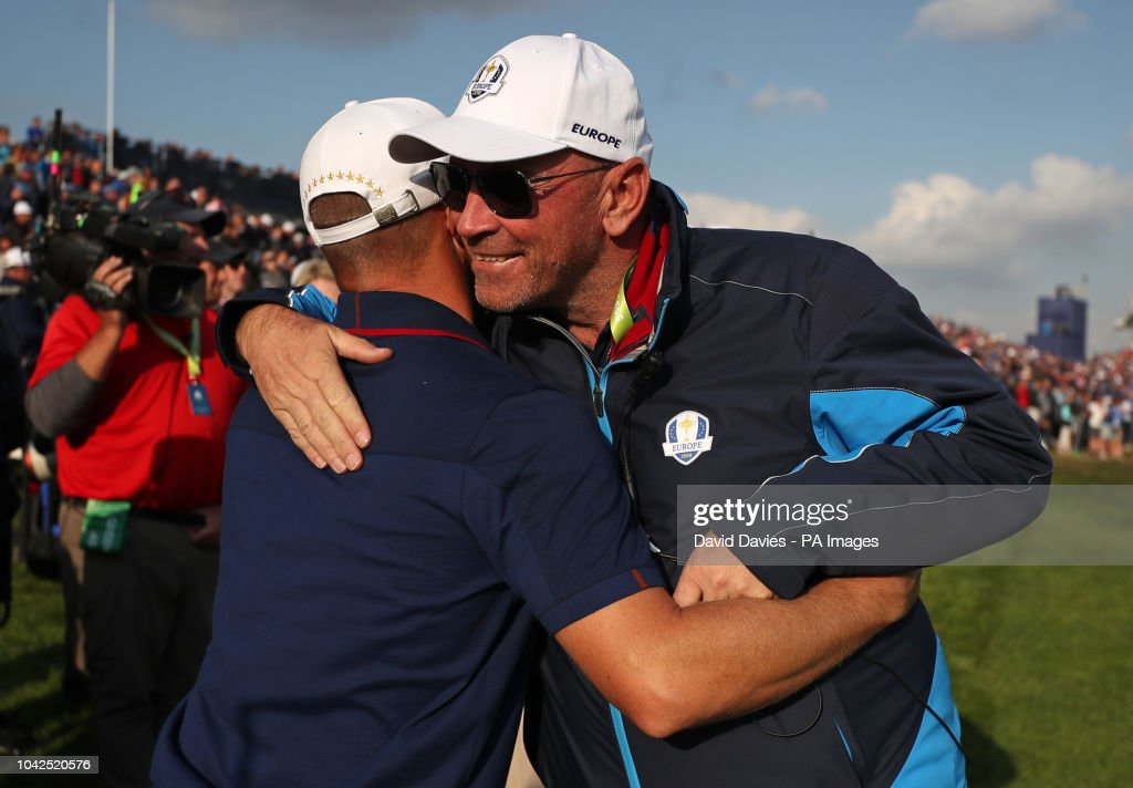 42nd Ryder Cup - Day One - Le Golf National : News Photo