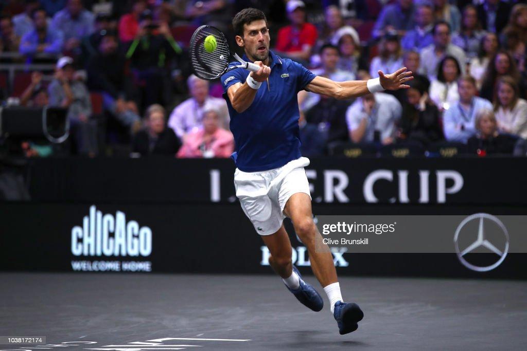 Novak Djokovic v Kevin Anderson : News Photo