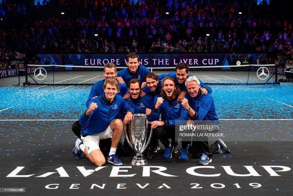 TENNIS-SUI-LAVER-CUP : News Photo