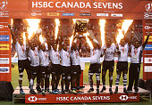 vancouver bc team fiji celebrate with