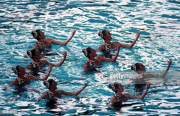 SYNCHRONSCHWIMMEN Team Finale ATLANTA 1996 2896 USA TEAM GOLD MEDAILLE