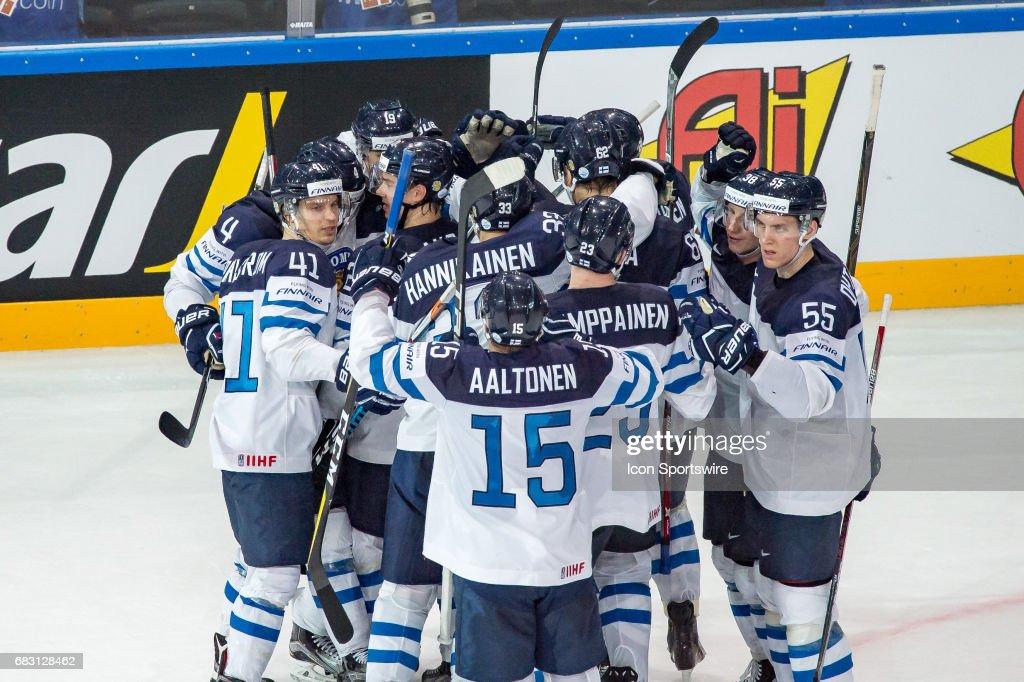 HOCKEY: MAY 14 IIHF World Championship - Switzerland v Finland : News Photo